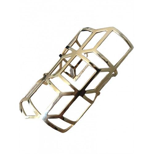 Pierre Hardy Gold Metal Bracelet