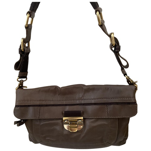 Nina Ricci Brown Leather Handbag