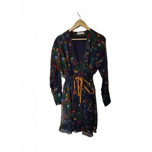 Roseanna Multicolour Silk Dress