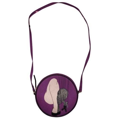 Olympia Le-tan Purple Cotton Handbag