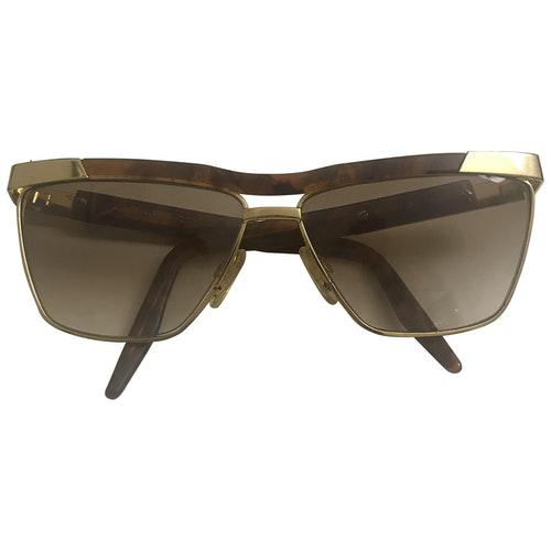 Roberto Capucci Gold Sunglasses