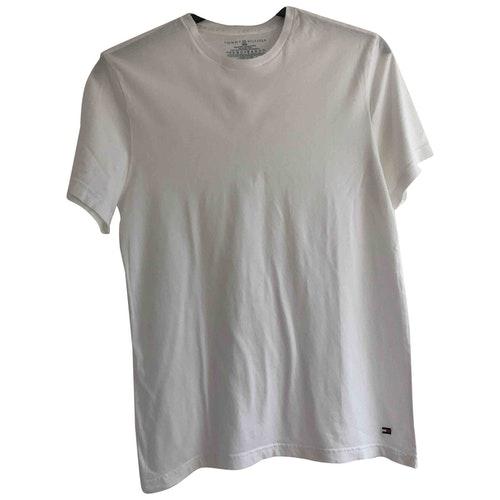 Tommy Hilfiger White Cotton T-shirts