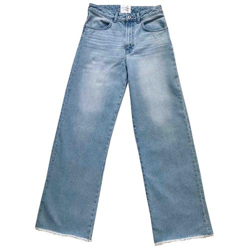Les Coyotes De Paris Blue Denim - Jeans Trousers