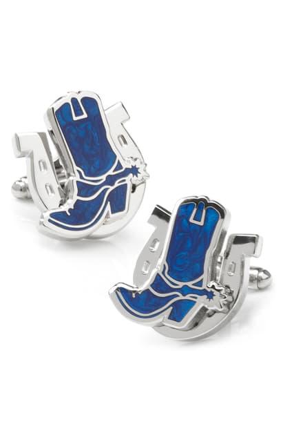 Cufflinks, Inc Cowboy Cuff Links In Blue