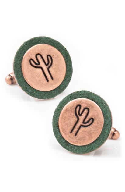 Cufflinks, Inc Cactus Cuff Links In Gold