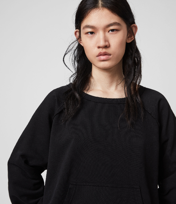 Allsaints Jessi Sweat In Black