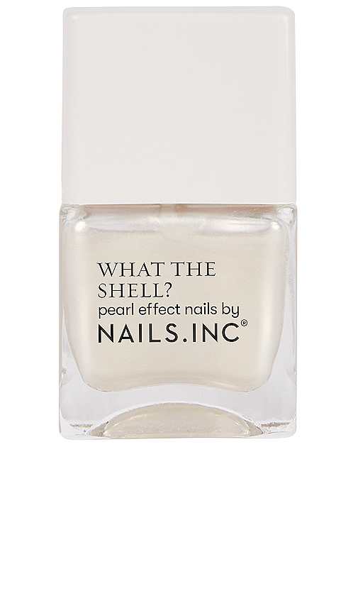 Nails.inc What The Shell? Pearl Effect Nail Polish In World's Your Oyster Babe