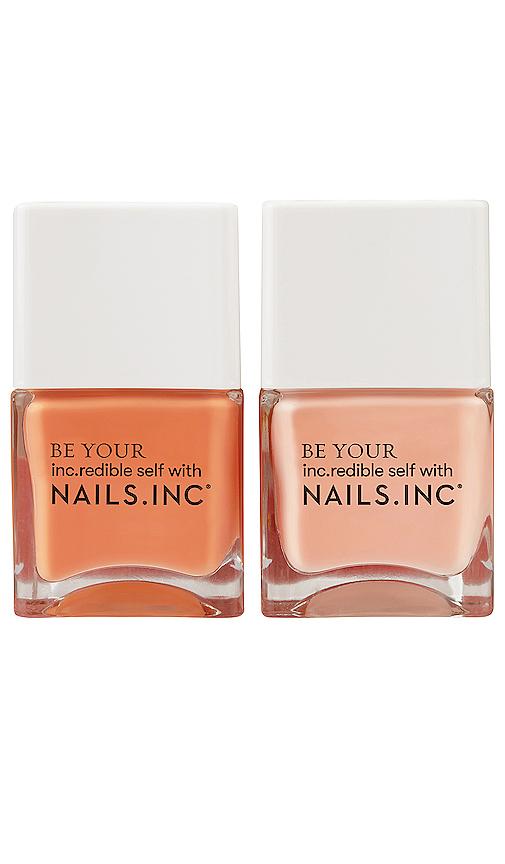 Nails.inc Kiss My Peach Duo In N,a