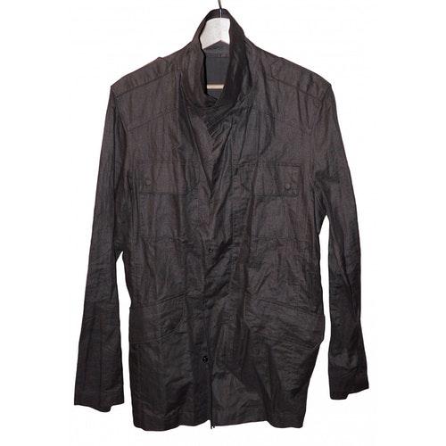 Azzaro Brown Linen Jacket