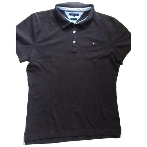 Tommy Hilfiger Brown Cotton T-shirts
