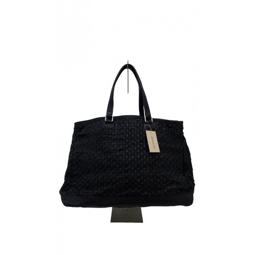Dragon Diffusion Black Leather Handbag