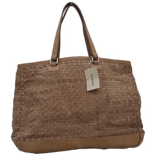 Dragon Diffusion Camel Leather Handbag