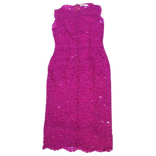 Pierre Balmain Purple Lace Dress