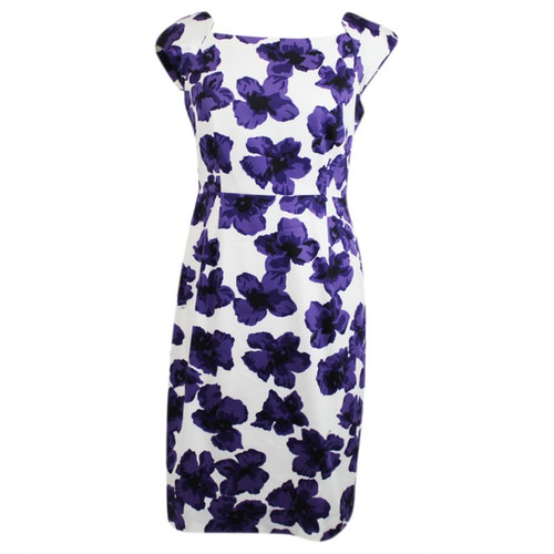 Milly Purple Cotton Dress