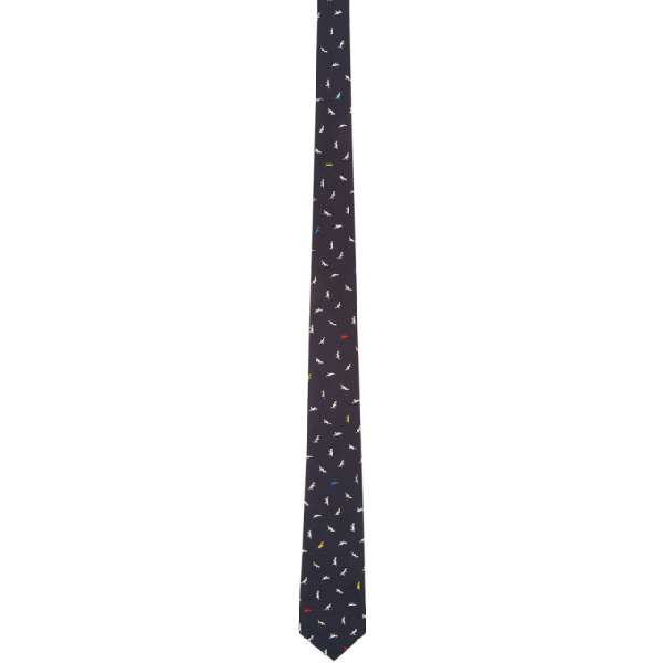 Ps By Paul Smith Purple Dino Tie