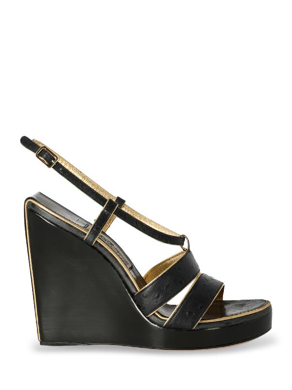 Salvatore Ferragamo Shoe In Black