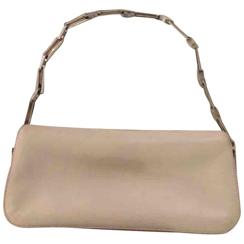 Nina Ricci Beige Leather Handbag