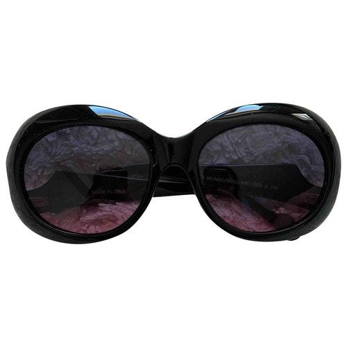 Wunderkind Black Sunglasses