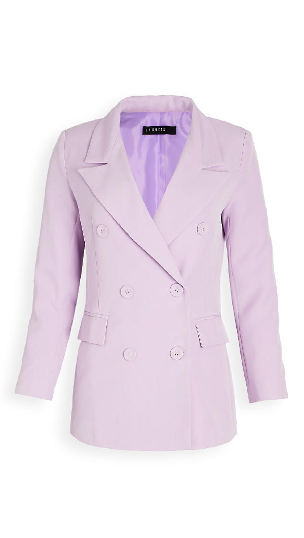 Lioness Don Jacket In Lilac