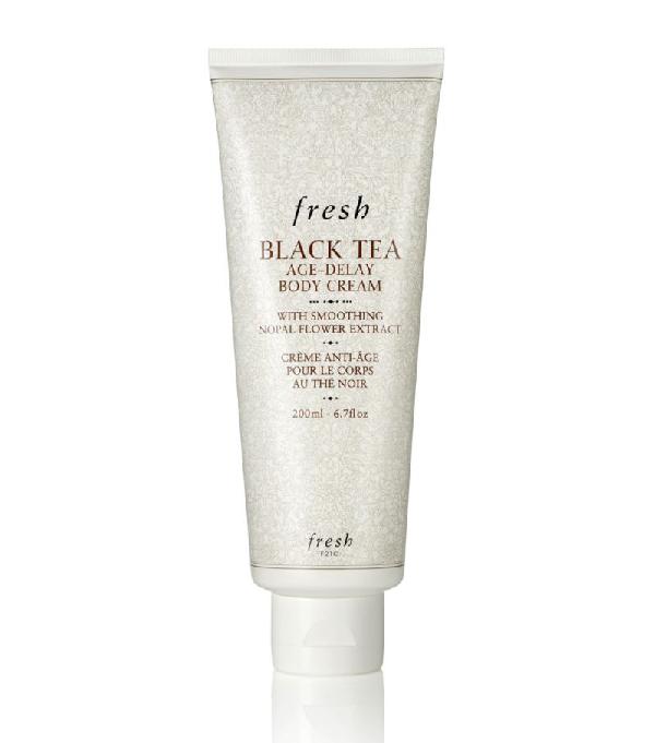 Fresh Black Tea Age-delay Body Cream In White