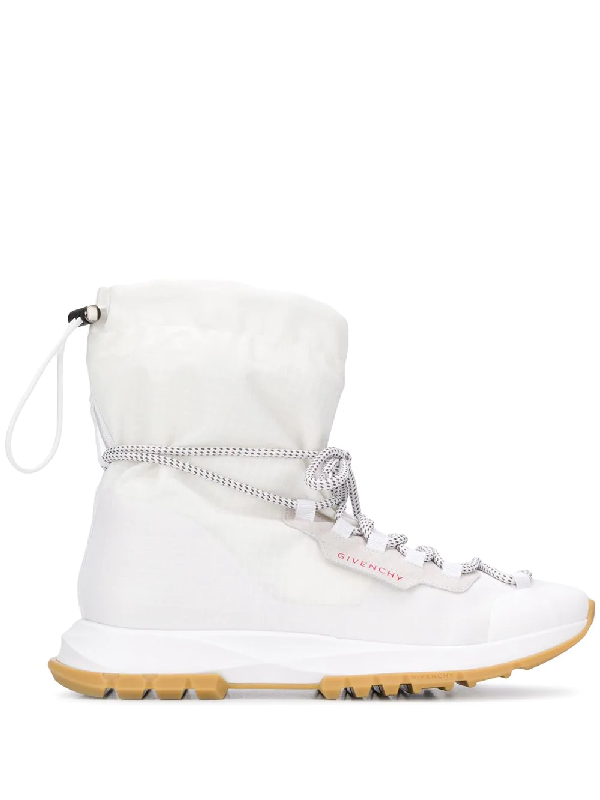Givenchy Spectre Ripstop High-top Sneakers In White