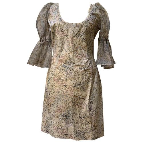 Luisa Beccaria White Cotton Dress
