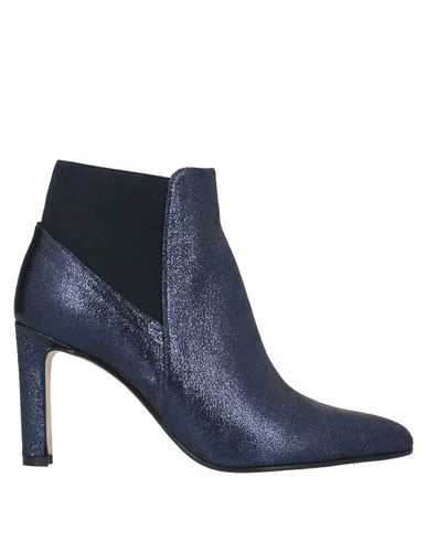 Cheville Ankle Boot In Dark Blue