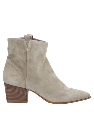 Pomme D'or Ankle Boot In Light Grey