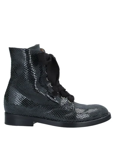 Pomme D'or Ankle Boot In Steel Grey