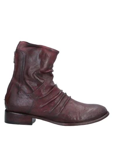 Le Ruemarcel Ankle Boot In Maroon