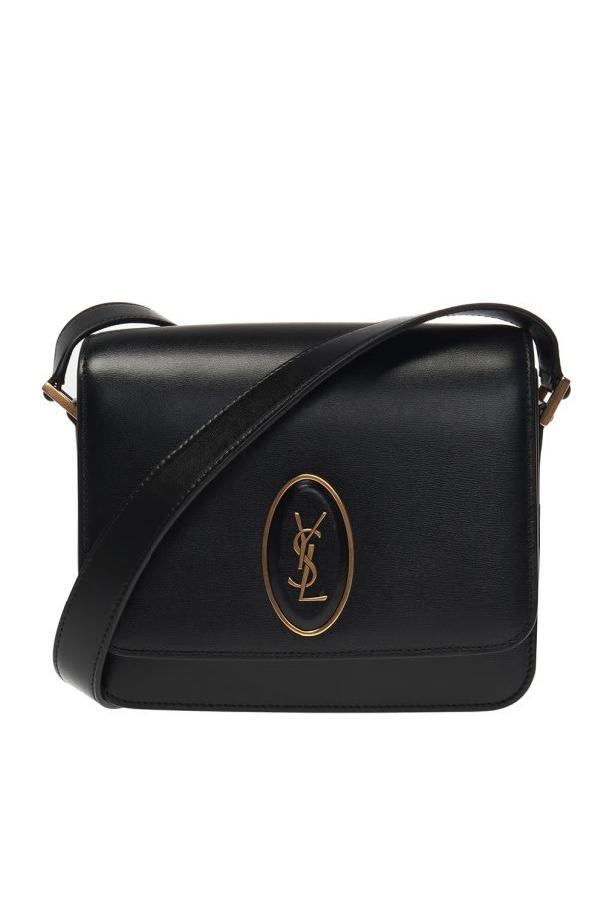 Saint Laurent Saddle Le 61 Shoulder Bag In Black