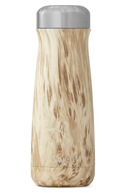 S'well Blonde Wood 20-ounce Insulated Traveler Bottle