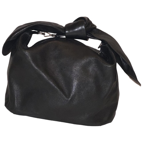 Simone Rocha Black Leather Handbag