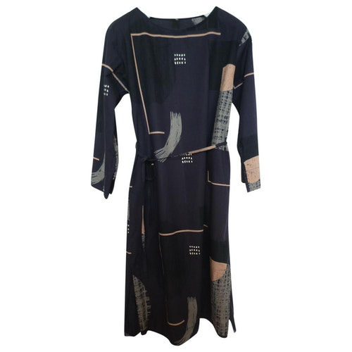Kowtow Navy Cotton Dress
