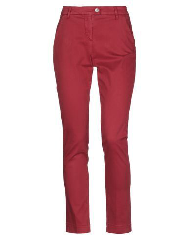Jeckerson Casual Pants In Brick Red