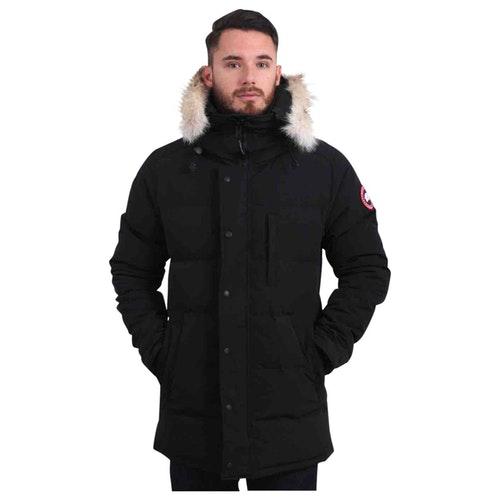 Canada Goose Black Faux Fur Coat
