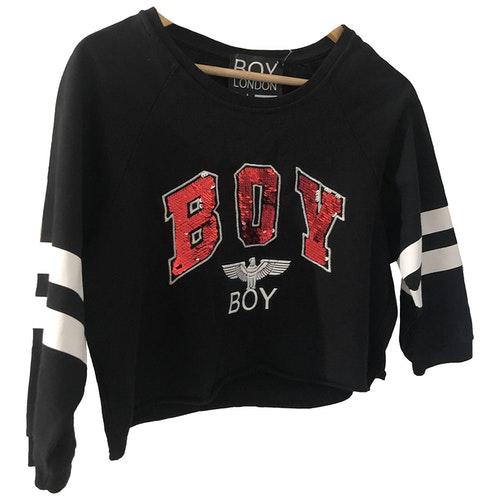 Boy London Black Cotton  Top