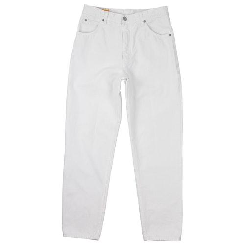 Edwin White Cotton Jeans