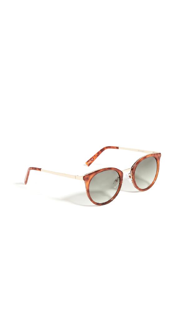 Le Specs No Lurking Sunglasses In Tort Khaki Grad