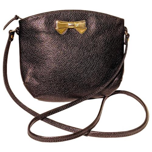 Nina Ricci Black Leather Handbag