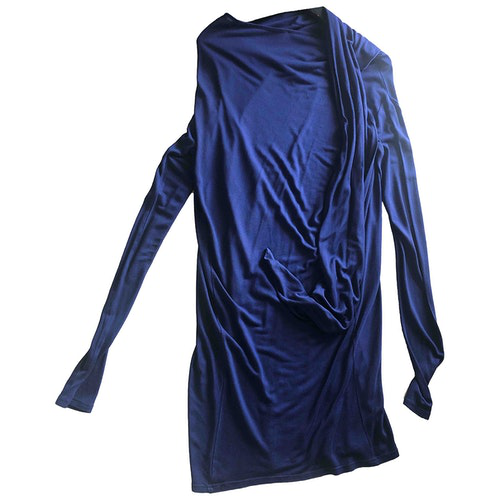 Christian Wijnants Blue Cotton Dress