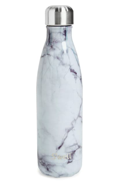 S'well Elements Collection White Marble Insulated Stainless Steel Water Bottle