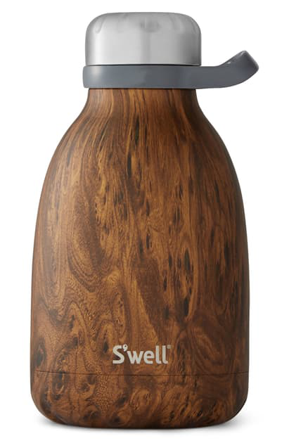 S'well Roamer 40-ounce Insulated Stainless Steel Travel Pitcher In Teakwood
