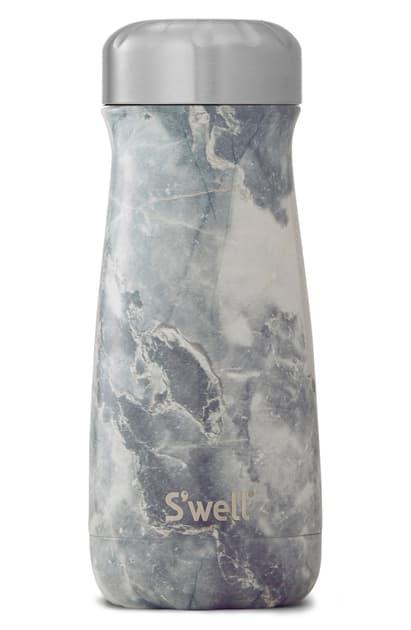 S'well Blue Granite 16-ounce Insulated Traveler Bottle