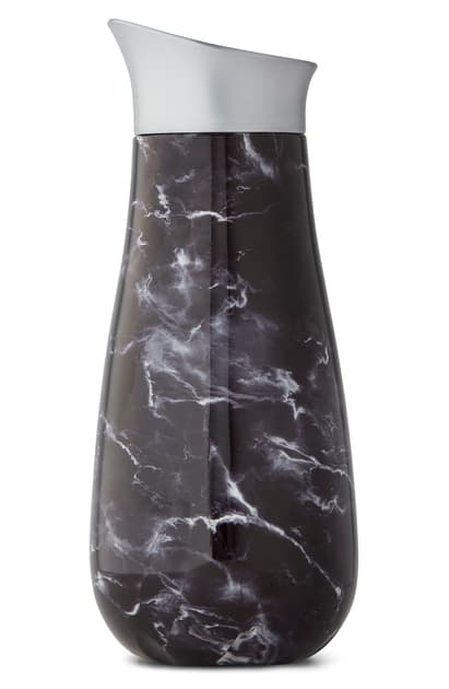 S'well Black Marble Insulated Carafe