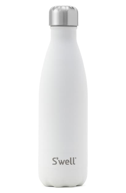 S'well Stone Collection Moonstone 17-ounce Insulated Stainless Steel Water Bottle In White Moonstone