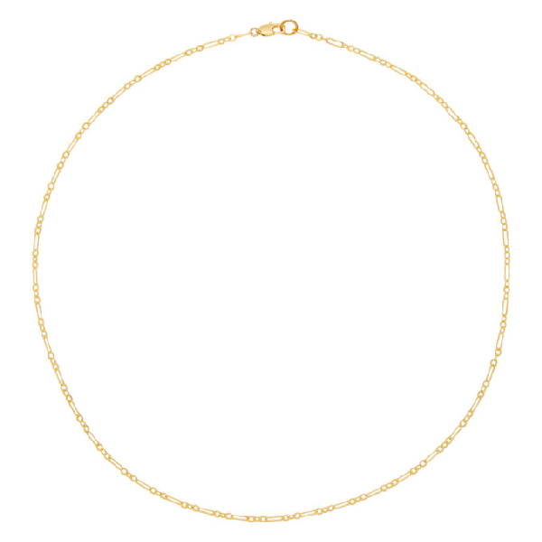 Laura Lombardi Gold Essential Chain Necklace In Brass
