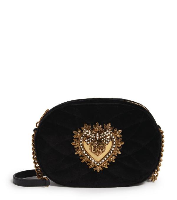 Dolce & Gabbana Velvet Devotion Camera Bag