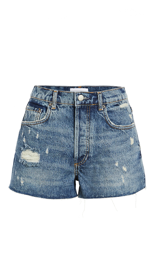 Boyish The Cody High Rise Rigid Cutoff Shorts In Accatone