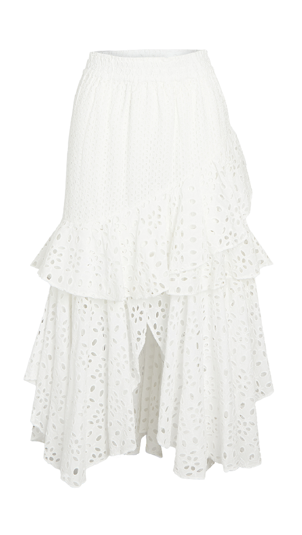Misa Joseva Skirt In Ivory